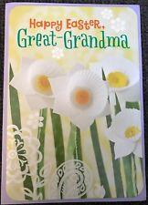 HALLMARK HAPPY EASTER GREAT-GRANDMA GREETING CARD