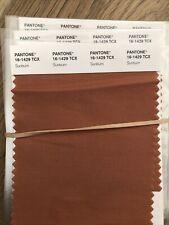 Pantone Cotton Swatch 16 1429 Tcx Sunburn