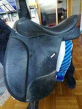 Wintec pro Dressursattel 16,5 Zoll Sattel für kurzen Rücken, Ponysattel