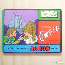 The story of Cinderella - Vintage Child Guidance Action Book - Alan LEINER