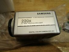 Samsung Security Digital Color Camera SCC-421AN 220x Power Zoom Low Light