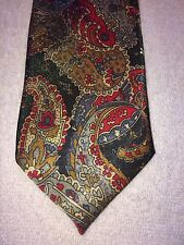 PICASSO MENS BOYS TIE 3 X 55 RED BROWN BLUE  NWOT