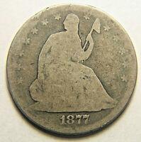 1877 Liberty Half Dollar