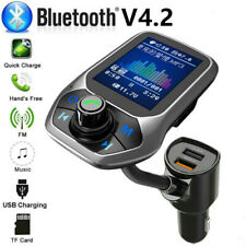 Hands Free Bluetooth Car FM Transmitter MP3 Player Radio Adapter USB Charge Kit