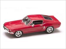 1968 FORD MUSTANG GT - rot / red - 1:43 Lucky Die Cast