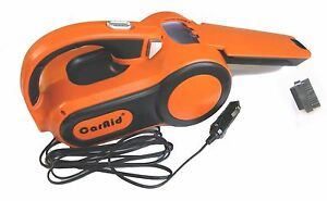CarAid 12-Volt Cyclonic-Action Automotive Vacuum Cleaner