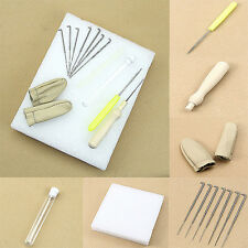 14pcs Needle Felting Starter Kit- Tools Needles Crafts Wool Mat Accessories Set