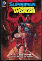 Superman Wonder Woman Vol 3: Casualties of War by Tomasi & Mahnke 2015 HC DC