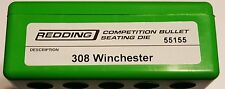 55155 REDDING COMPETITION SEATING DIE - 308 WINCHESTER - NEW - FREE SHIP