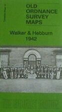 Old Ordnance Survey Map Walker & Hebburn 1942 TYNESIDE SHEET 13c