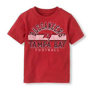 NFL Tampa Bay Buccaneers Football Boy or Girl T-Shirt  Infant  Size-6-9 Months