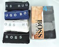 Hugo Boss Men's Fly Front Cotton Briefs, Underwear x 4 Pack