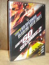 Deadline Auto Theft / Gone In 60 Seconds 2 (DVD, 2003)