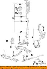 HONDA OEM 90-93 Accord Front-Lower Control Arm 51355SM4040
