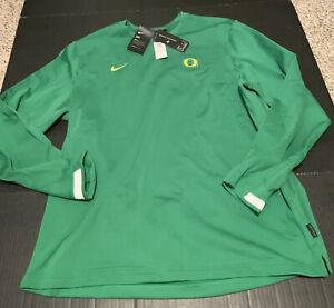 Oregon Ducks Nike 2020 Dry Crew Sweatshirt Men's Size: 3XL NWT Green
