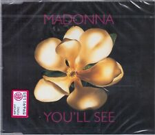 "MADONNA ""YOU'LL SEE"" CD SINGLE 1995 SIRE/MAVERICK MADE IN GERMANY NEW SEALED"
