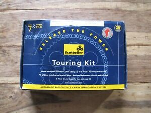 Scottoiler - Touring Kit & Dual Injector - Brand new boxed
