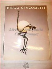 ARTE: DIEGO GIACOMETTI GREENBERG GALLERY 1985 Catalogo Arredamento Prezzario