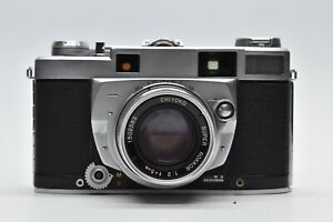RARE! [NEAR MINT] Minolta Super A Rangefinder Camera & 50mm F/2 Lens #2520