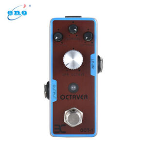ENO EX OCT-1 OCTAVE DC 9V Compact size Mini Octave Guitar Effect Pedal M1C0