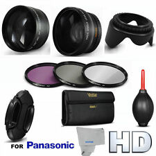 WIDE ANGLE LENS + 2.2X TELEPHOTO ZOOM LENS + FILTERS FOR PANASONIC HC-WXF991K
