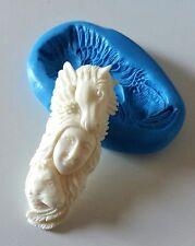 Animal Spirit TOTEM Stampo in silicone 62 mm resina pasta di zucchero PMC cabochon fimo
