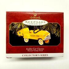 New 1997 Hallmark Keepsake Ornament Kiddie Car Classics Murray Dump Truck Qx6195
