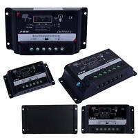 Upgrade Version 5/10/15/20/30A 12/24V PWM Solar Regulator Charge Controller Jб