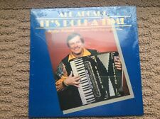 "WALTER OSTANEK  ""All Aboard It's Polka Time""  NEW SEALED SLOVENIAN POLKA LP"