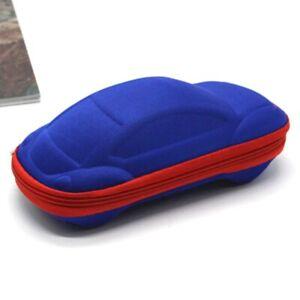 Car Shape Sunglasses Case Children Glasses Protector Kids Box Cover Pouch Unisex