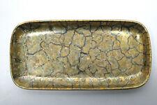 Porzellan Kammschale 22 Karat Gold  Handgemalt Inge Kuba Nr. 1001