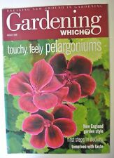 Gardening Which? Magazine. August, 2000. Touchy, feely pelargoniums.