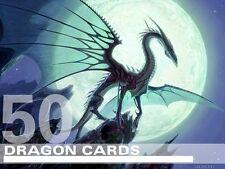 MTG Dragon Lot - 50 RARE / FOIL Cards - Magic Lot Set Collection EDH Deck Tribal
