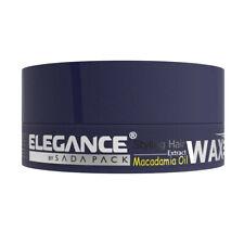 ELEGANCE NEW HAIR STYLING WAX WITH MACADAMIA OIL FIRM HOLD HAIR WAX 140ml
