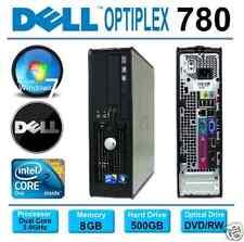 DELL OPTIPLEX 780 SFF PC ~ INTEL CORE 2 DUO 3.0GHz ~ 500GB ~ 8GB ~ WINDOWS 7