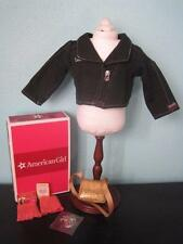 NEW American Girl Isabelle Meet Accessories Jacket Purse Hairpin Retired/NIB