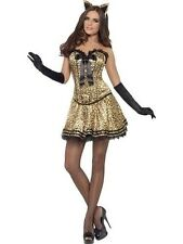 Fever Boutique Kitty Costume New Adult Halloween Cristmas Sexy Women Large Size
