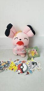 Vintage Snubbull + Free Pokemon Stickers Banpresto