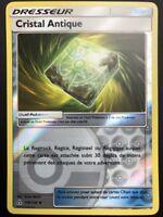 Carte Pokemon CRISTAL ANTIQUE 118/156 REVERSE Soleil et Lune 5 SL5 FR NEUF