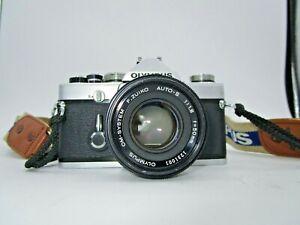 Olympus OM-1 SLR Film Camera w/ G.ZUIKO AUTO-S 50mm Lens