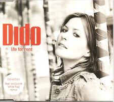 DIDO Life for Rent White Flag IDJUT BOYS REMIX 2TRX CD single SEALED USA seller