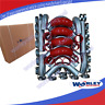 "For Universal Intercooler Turbo 2"" Piping pipe + Red hose + T-Clamp kits 51mm"