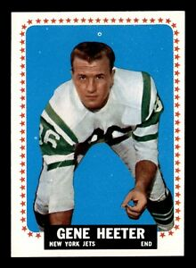 GENE HEETER 1964 TOPPS 1964 NO 115 NRMINT+ 19574