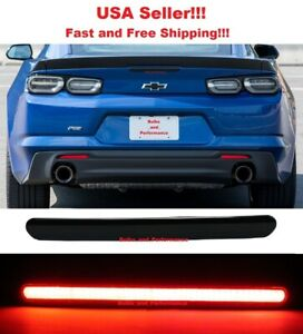 Smoked Lens LED Smoked 3rd Brake Light for 2016 - 2021 Chevy Camaro Chevrolet