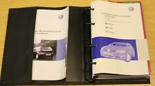 VW PASSAT BLUEMOTION R36 B6 2005-2010 OWNERS MANUAL HANDBOOK WALLET PACK A-560 !