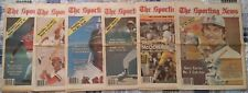 Six Full Issues The Sporting News 1979 No Mailing Labels Rod Carew, Cardinals