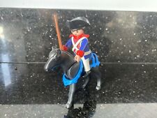 Playmobil French Soldier And Horse