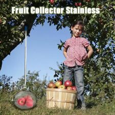 Stainless Steel Tennis Harvester Fruit Ball Collector Hard Court Picker Catcher