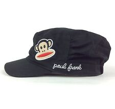 Teen Girl Youth Size Paul Frank Cadet Military Style Hat Cap Elastic Back Cotton