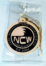 Van / Car AIR FRESHENER Surfing NCW CORNWALL (North Coast Wetsuits) 8cm UK made